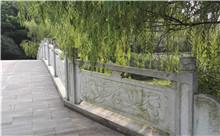 咸宁花岗岩芝麻白石材雕刻栏杆 厂家特惠直批(诚信)