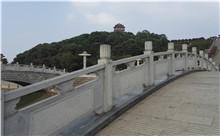 合肥花岗岩芝麻白石材雕刻栏杆 厂家批发订制(守信)