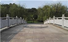 长沙花岗岩芝麻白石材雕刻栏杆 厂家特惠定做(包安装)