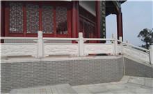 南京花岗岩芝麻白石材雕刻栏杆 厂家特价供应(守信)