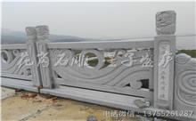 崇义花岗岩芝麻白石材雕刻栏杆 厂家加工直供(诚信)