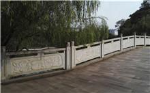 赤壁花岗岩芝麻白石材雕刻栏杆 厂家特惠直批(守信)