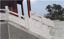 无锡花岗岩芝麻白石材雕刻栏杆 厂家特价定做(包安装)