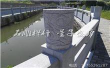 玉山花岗岩芝麻白石材雕刻栏杆 厂家批发供应(优质)