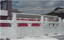 广丰花岗岩芝麻白石材雕刻栏杆 厂家批发供应(守信)