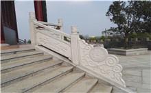 江阴花岗岩芝麻白石材雕刻栏杆 厂家特价定做(诚信)