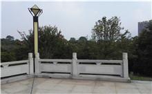 苏州花岗岩芝麻白石材雕刻栏杆 厂家特价定制(守信)