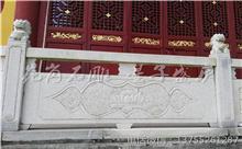 龙南花岗岩芝麻白石材雕刻栏杆 厂家加工直供(优质)