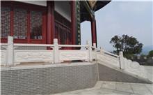 上海花岗岩芝麻白石材雕刻栏杆 厂家特惠直销(推荐)