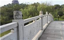 岳阳花岗岩芝麻白石材雕刻栏杆 厂家特惠订制(包安装)