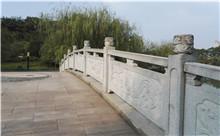 湘潭花岗岩芝麻白石材雕刻栏杆 厂家特惠定做(守信)