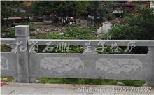 安福花岗岩芝麻白石材雕刻栏杆 厂家生产订制(守信)
