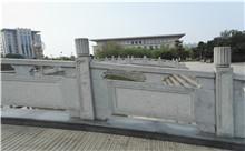 德兴花岗岩芝麻白石材雕刻栏杆 厂家批发订制(诚信)