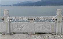 黎川花岗岩芝麻白石材雕刻栏杆 厂家生产直供(守信)