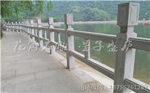 抚州花岗岩芝麻白石材雕刻栏杆 厂家生产直供(包安装)