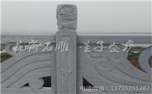 宜春花岗岩芝麻白石材雕刻栏杆 厂家生产定制(包安装)